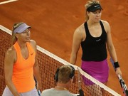 """Sharapova  """" trả thù """"  Bouchard: Cuộc chiến mỹ nhân tennis lên đỉnh điểm"""