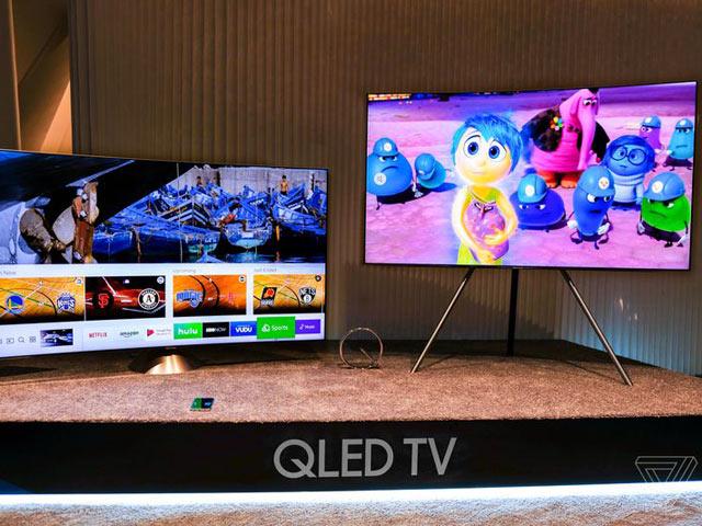 """Samsung TV QLED """"lên kệ"""": Thiết kế tràn viền, hiển thị siêu nét"""