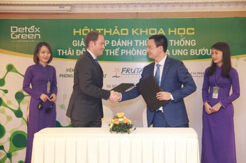 Việt Nam,1 trong 20 quốc gia được chuyển giao nguyên liệu ngăn ngừa ung thư - 1