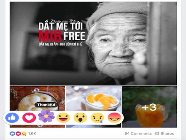 Facebook có thêm tùy chọn cảm xúc mới nhân Ngày của mẹ