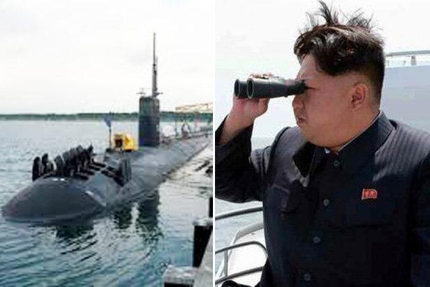 Đội tàu ngầm tấn công hạt nhân Mỹ vây quanh Triều Tiên 1