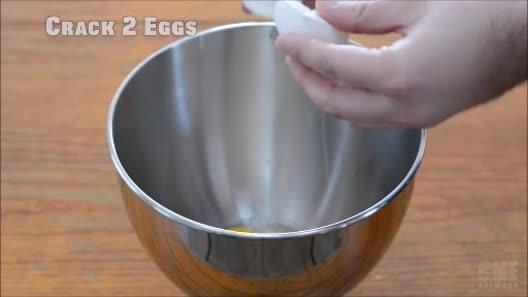 Trứng mây bồng bềnh, món ăn đang gây sốt mạng xã hội