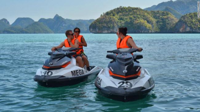"""""""Xõa tới bến"""" tại thiên đường biển đẹp nhất Malaysia - 8"""