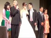 """Bạn trẻ - Cuộc sống - Clip lời nhắc nhở """"bá đạo"""" của bố vợ trong ngày cưới"""