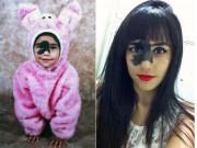 Bạn trẻ - Cuộc sống - Dù có vết bớt che nửa gương mặt, cô gái trẻ vẫn rất xinh đẹp