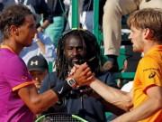 """Chi tiết Nadal - Goffin:  """" Tuột xích """"  dễ dàng ở set 2 (KT)"""
