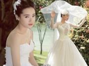 Nhã Phương diện váy cô dâu làm tan chảy trái tim trai trẻ