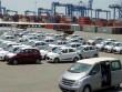 Nhập khẩu ô tô bất ngờ giảm mạnh sau khi tăng sốc