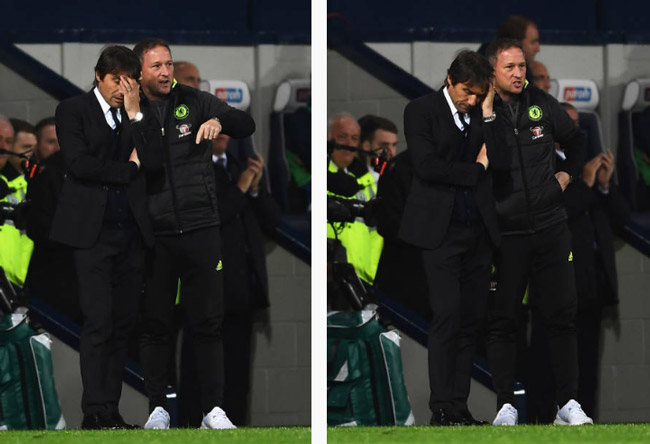 """Dự bị giúp Chelsea vô địch, Conte diễn """"vũ điệu hoang dại"""""""