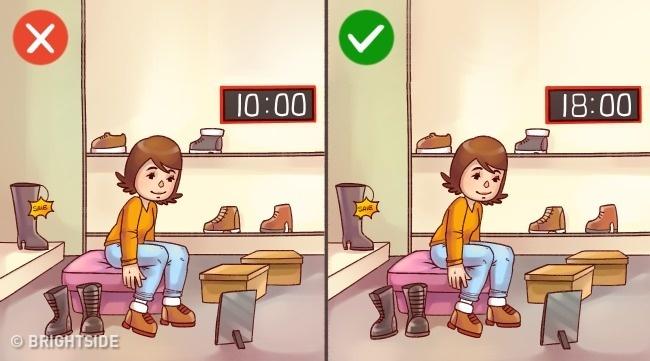 Những mẹo đơn giản chọn giày vừa đẹp lại không đau chân - 2