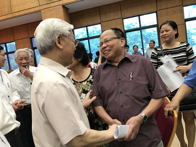 Tổng Bí thư nói về việc xử lý ông Đinh La Thăng - 2