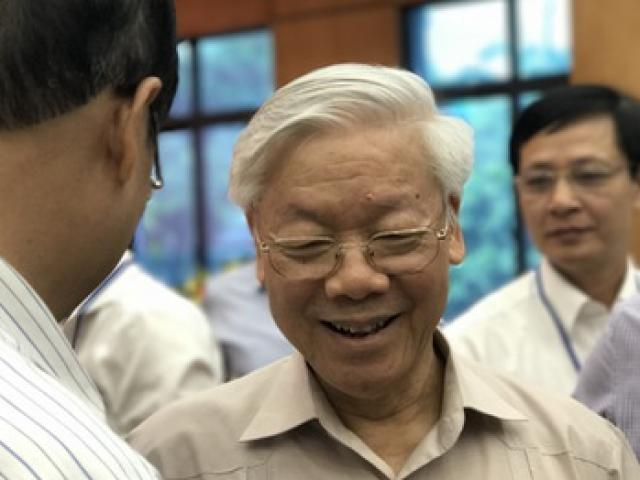 Tổng Bí thư nói về việc xử lý ông Đinh La Thăng