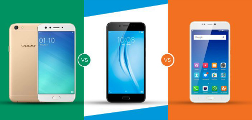Đọ sức 3 smartphone chuyên selfie: Oppo F3, Vivo V5s và Gionee A1 - 1