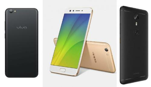 Đọ sức 3 smartphone chuyên selfie: Oppo F3, Vivo V5s và Gionee A1 - 2