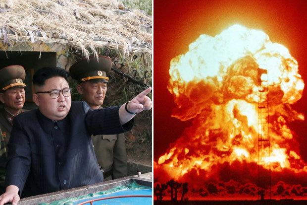 """Triều Tiên dọa tấn công hạt nhân Mỹ """"nhanh như chớp mắt"""" - 1"""