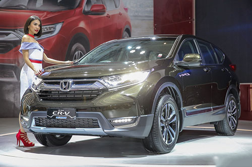 Honda CR-V 7 chỗ Turbo có giá từ 736 triệu đồng - 1