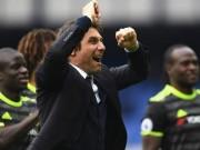 """Bóng đá - Chelsea vô địch: Costa khoe thân 6 múi, Conte bị học trò """"tấn công"""""""