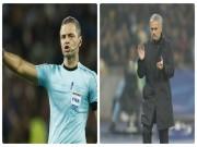 Bóng đá - Họa cho MU: Kẻ thù Mourinho cầm còi chung kết Europa League