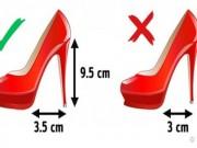 Những mẹo đơn giản chọn giày vừa đẹp lại không đau chân
