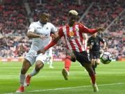 """Sunderland - Swansea: Kẻ  """" chết chìm """"  níu áo người chới với"""