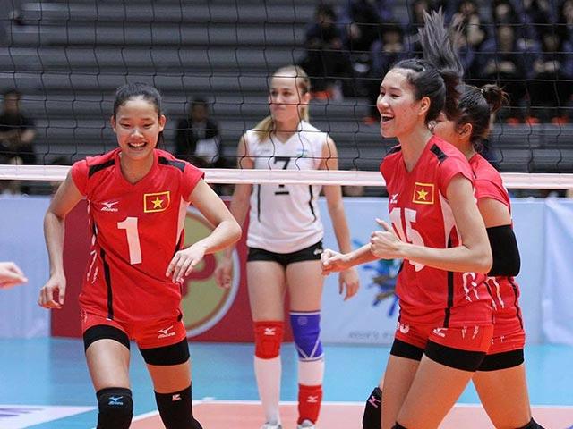 Bóng chuyền nữ: U23 VN thắng lớn, rộng cửa tranh top 4 châu Á - 1