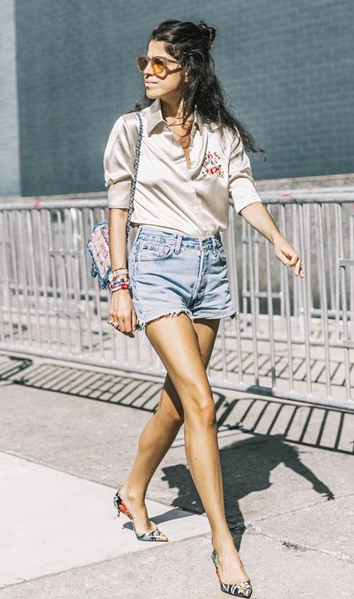 Mùa của short jeans tới rồi, chắc gì bạn đã biết cách mặc? - 8