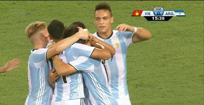 U22 Việt Nam - U20 Argentina: Bão bàn thắng tại Mỹ Đình - 1