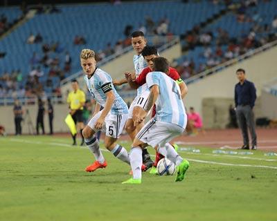 Chi tiết U22 Việt Nam - U20 Argentina: Pha cứu bóng may mắn (KT) - 3