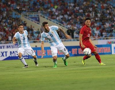 Chi tiết U22 Việt Nam - U20 Argentina: Pha cứu bóng may mắn (KT) - 7