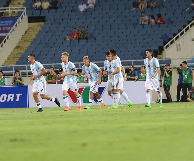U22 Việt Nam - U20 Argentina: Bão bàn thắng tại Mỹ Đình - 2
