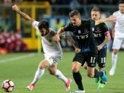 Atalanta - AC Milan: Cú ngã ở gần vạch đích