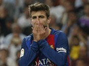 Bóng đá - Tin HOT bóng đá sáng 14/5: Pique nhập viện, Barca lo sốt vó