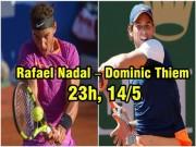 """Thể thao - Chung kết Madrid Open: Nadal """"gõ cửa"""" siêu kỷ lục"""