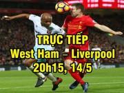 Bóng đá - TRỰC TIẾP bóng đá West Ham – Liverpool: Origi sát cánh Sturridge