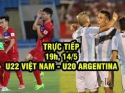 Chi tiết U22 Việt Nam - U20 Argentina: Pha cứu bóng may mắn (KT)