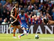 Crystal Palace - Hull: Tiệc 4 bàn tiễn xuống hạng