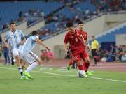 Bóng đá - U22 Việt Nam - U20 Argentina: Bão bàn thắng tại Mỹ Đình