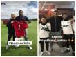 """Anthony Joshua, Usain Bolt và các sao  """" dựa hơi """"  MU để nổi tiếng"""