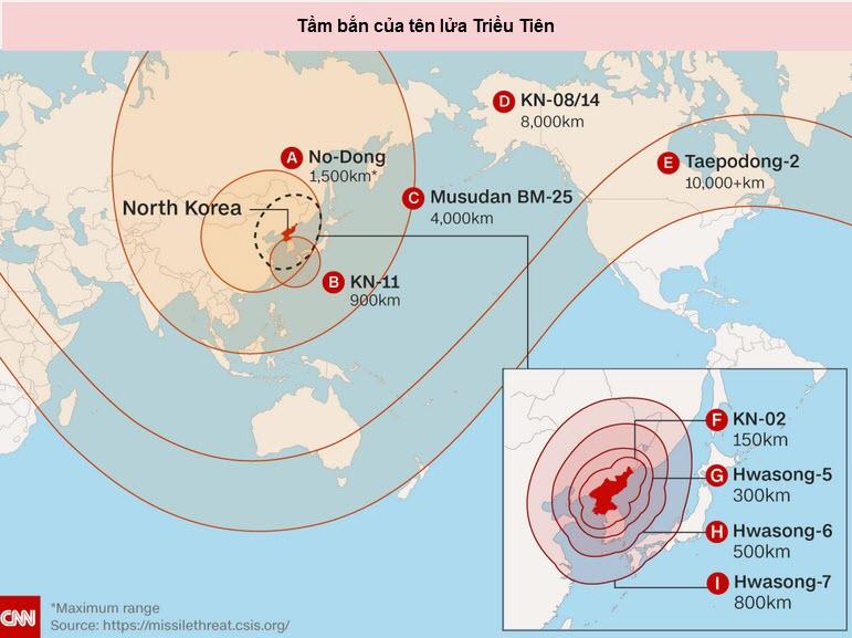 Triều Tiên tuyên bố tên lửa vừa bắn mang được hạt nhân - 2