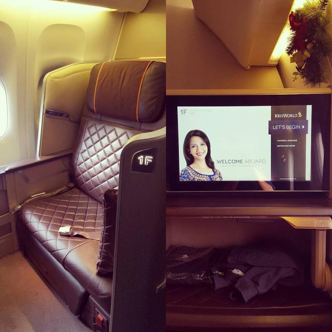 """""""Choáng"""" với khoang VIP có giá 372 triệu/vé của hãng hàng không Singapore Airlines - 6"""