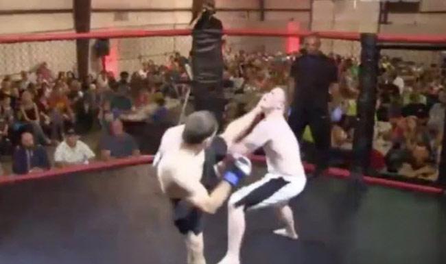 MMA: 4 giây đã hạ đối thủ, Từ Hiểu Đông chẳng là gì - 1