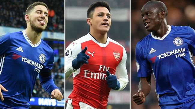 """Cầu thủ hay nhất Premier League: Thành London """"đè bẹp"""" thành Man"""