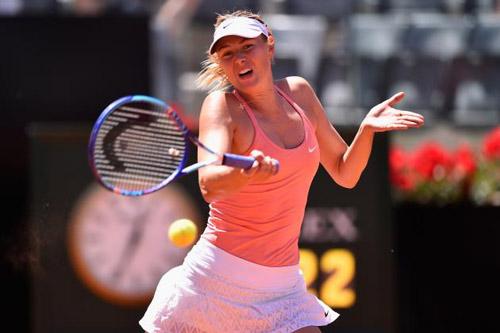 Sharapova - McHale: Quyết tâm cao độ (Vòng 1 Rome Masters) - 1