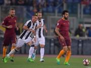 """Roma - Juventus: Ngược dòng ngáng bước  """" Nhà Vua """""""