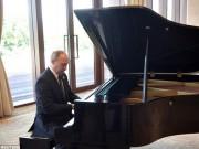 Video: Putin trổ tài piano tại nhà riêng Tập Cận Bình