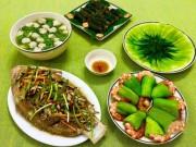 Ẩm thực - Chào tuần mới với bữa cơm gia đình tuyệt ngon