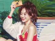 """Thời trang - Ngắm Hari Won """"hờ hững"""" nội y biến hóa thành hot girl tuổi 18"""