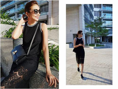 Angela Phương Trinh, Midu diện váy ngắn khoe chân dài thon nuột - 6