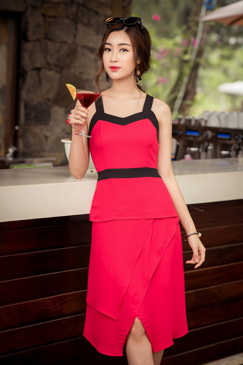 Hoa hậu Mỹ Linh kiếm được tiền vẫn xin phép mẹ mua hàng hiệu - 7