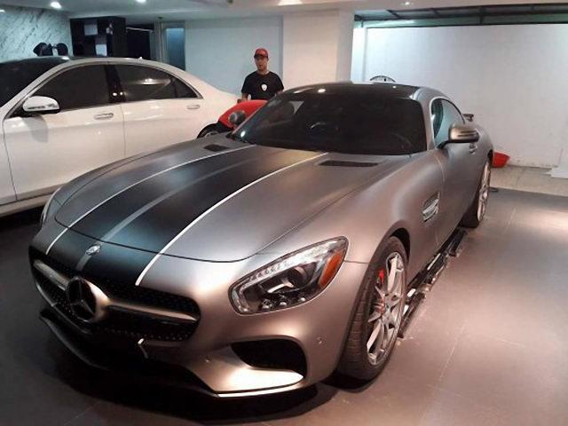 """Mercedes-AMG GT-S mới tậu của Cường Đô La thay """"áo mới"""""""
